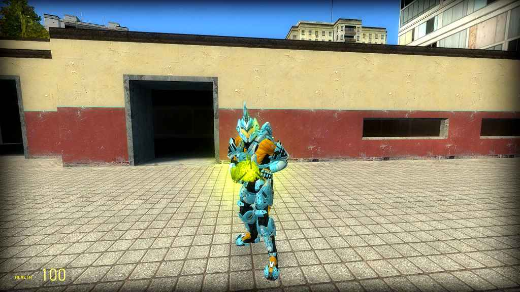 Мод Garrys mod 13 — Модель для игрока и NPC из Halo 4