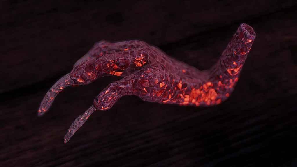 Мод Skyrim — Реплейсер драконьих когтей