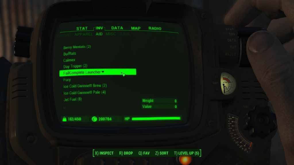 Мод Fallout 4 — Мод для автоматического отслеживания квестов и уникальных предметов