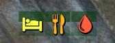 Мод Fallout 4 — Цветные иконки потребностей