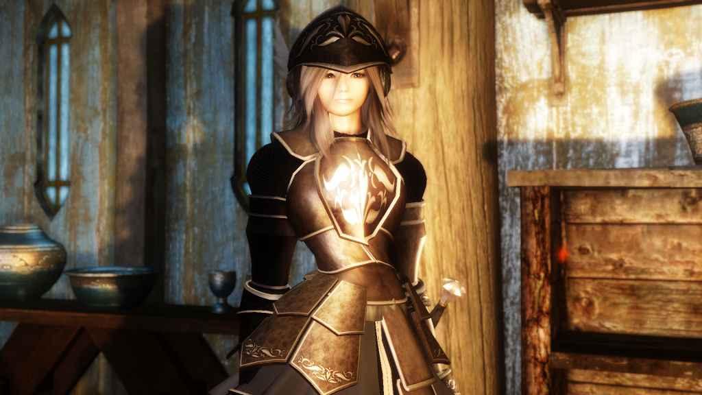 Мод Skyrim — Спутница Катерина