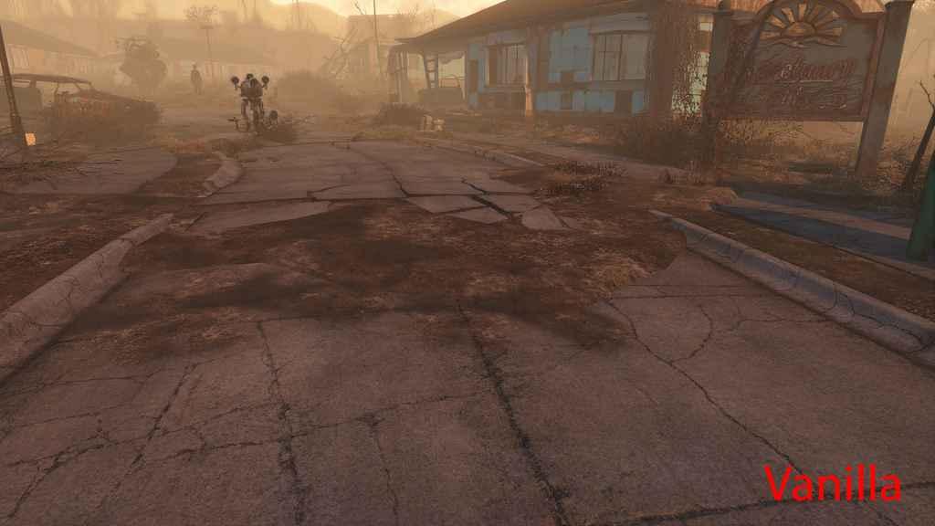 Мод Fallout 4 — Чистые дороги в поселении