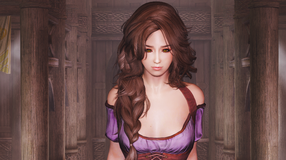 Мод Skyrim — Коллекция комбинированных причесок