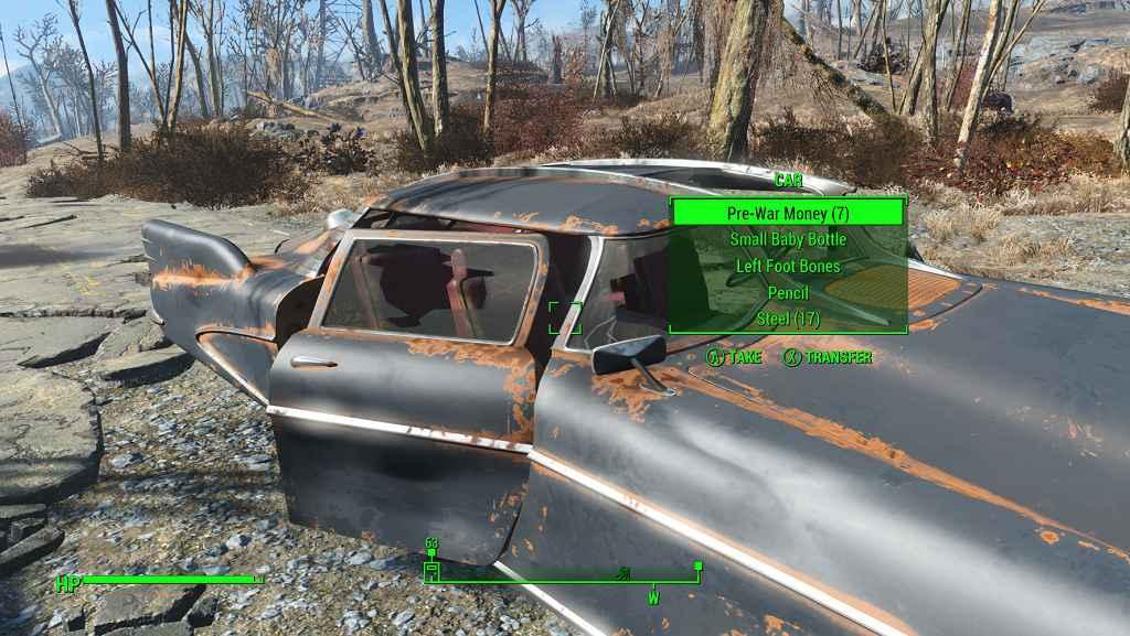 Мод Fallout 4 — Лутабельные машины