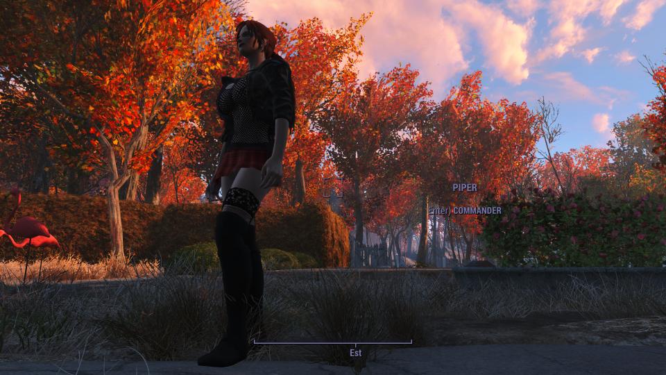Мод Fallout 4 — Сексуальный наряд для девушек