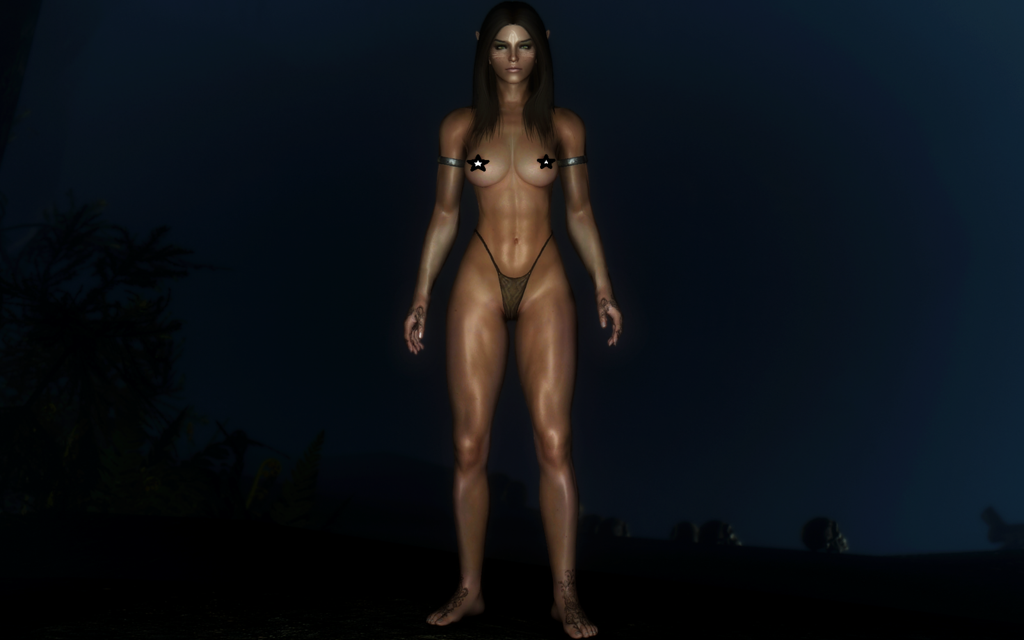 Skyrim — Новое тело для девушек «Зоя бегунья»
