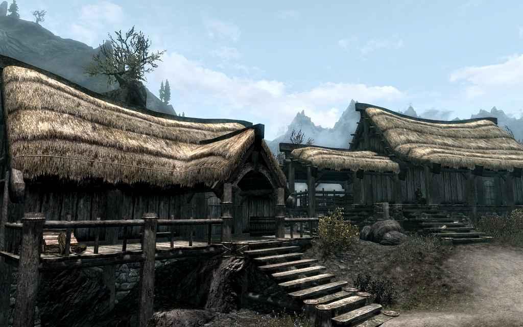 Мод Skyrim — Расширение деревни Картвастен