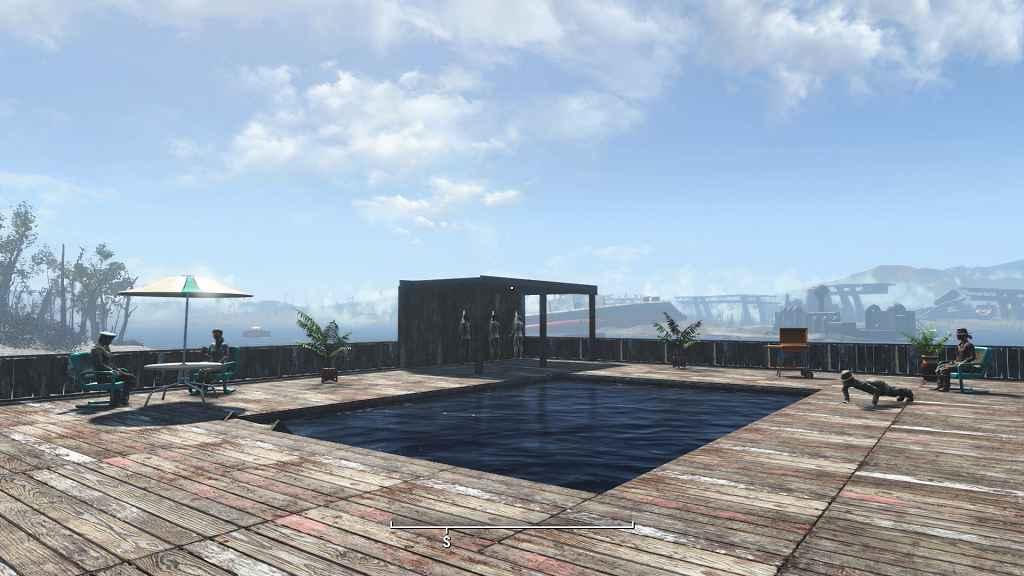 Fallout 4 — Построй свой бассейн!