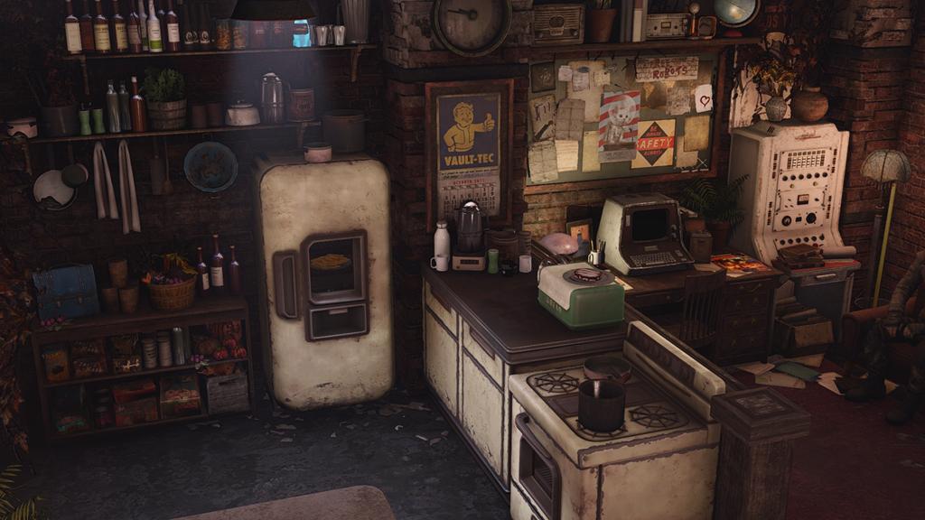 Мод Fallout 4 — Дом для игрока в Штабе «Подземки»