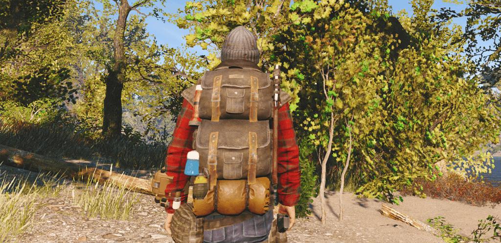Мод Fallout 4 — Рюкзаки