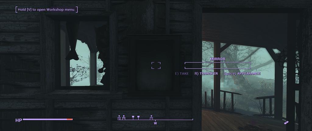 Мод Fallout 4 — Зеркало для изменения внешности