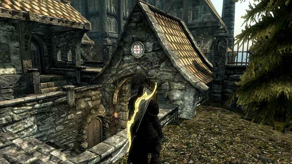 Мод Skyrim — Реплейсер лука Ауриэля