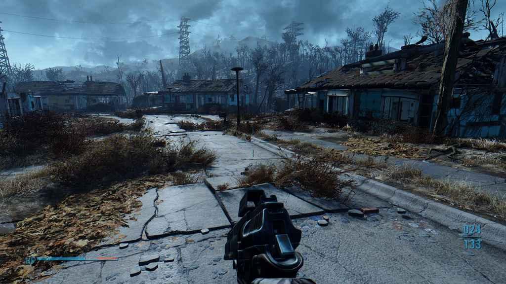 Мод Fallout 4 — Держим оружие ниже когда не стреляем (+DLC)