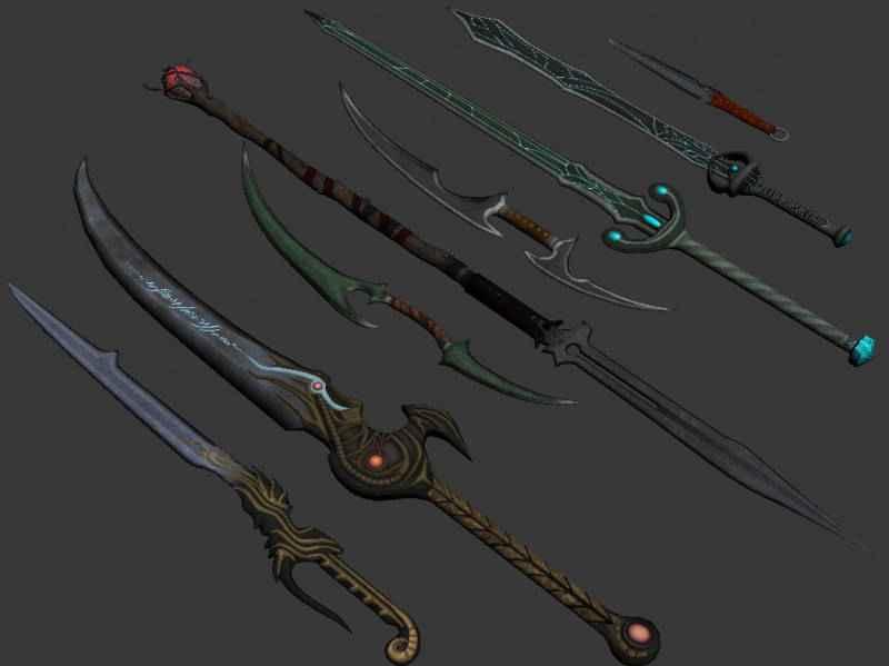 Мод Skyrim — 48 новых единиц оружия из Dragon Age