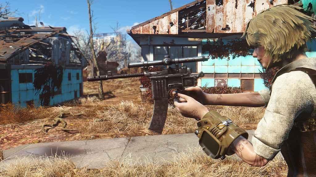 Мод Fallout 4 — Маузер