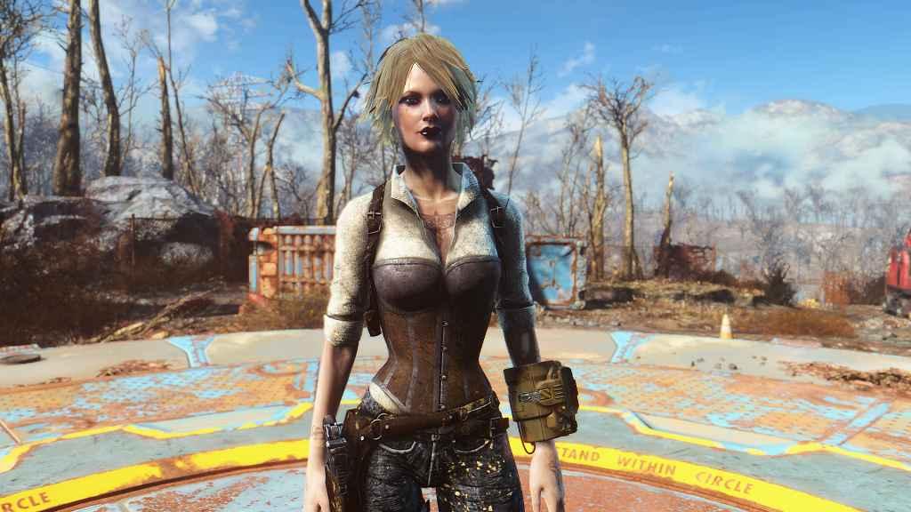 Мод Fallout 4 — Одежда детектива (CBBE / Vanilla)