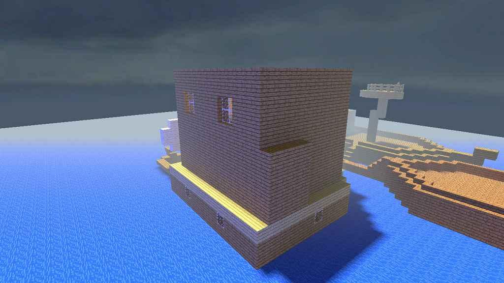 Мод Garrys Mod 13 — Карта с лодкой «ttt_mc_boathouse_v1»