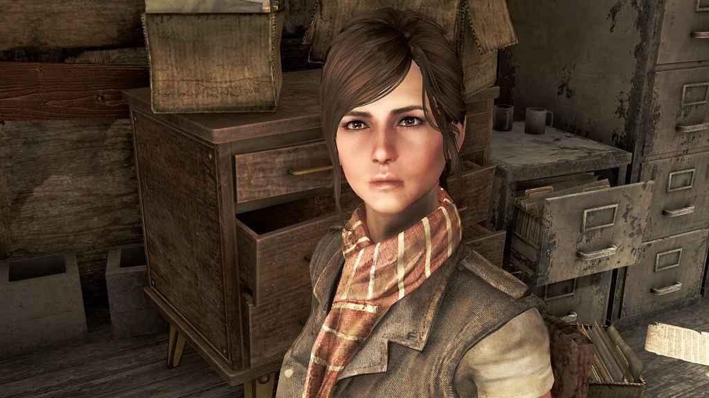 Мод Fallout 4 — Реплейсер Элли Перкинс