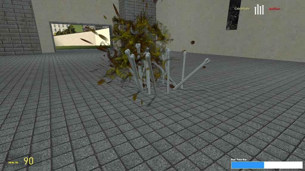 Мод Garrys mod 13 — Sans Abilities
