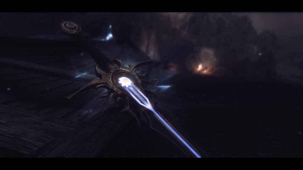 Мод Skyrim — Новый меч «Небесный клинок»