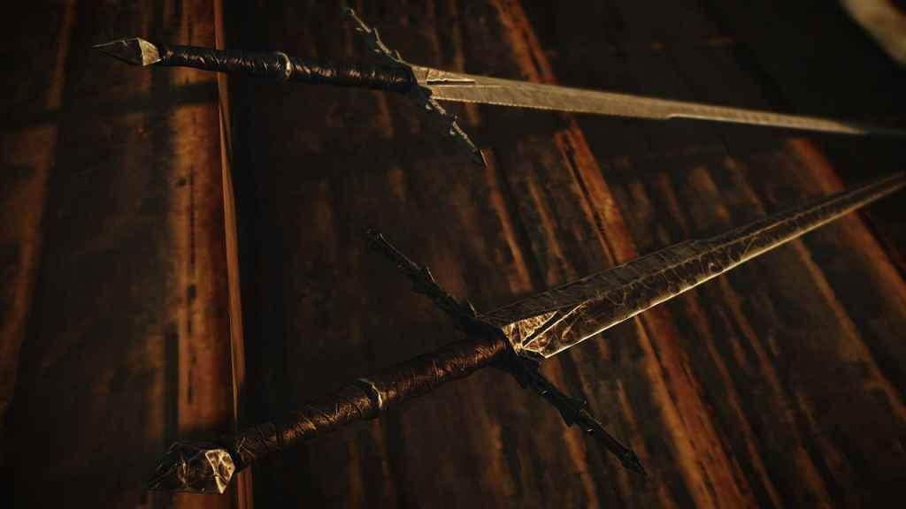 Мод Skyrim — Коллекция оружия из Властелина колец