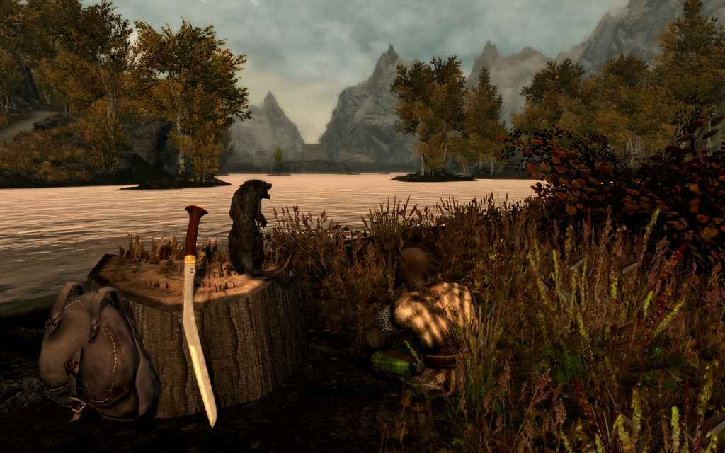 Мод Skyrim — 6 новых мечей