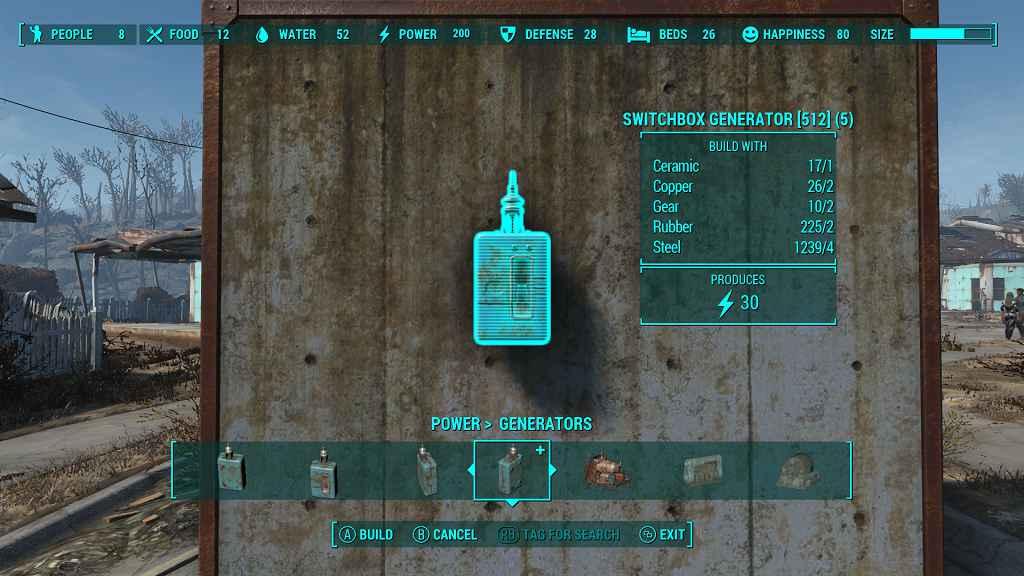 Мод Fallout 4 — Распределительный щиток-генератор