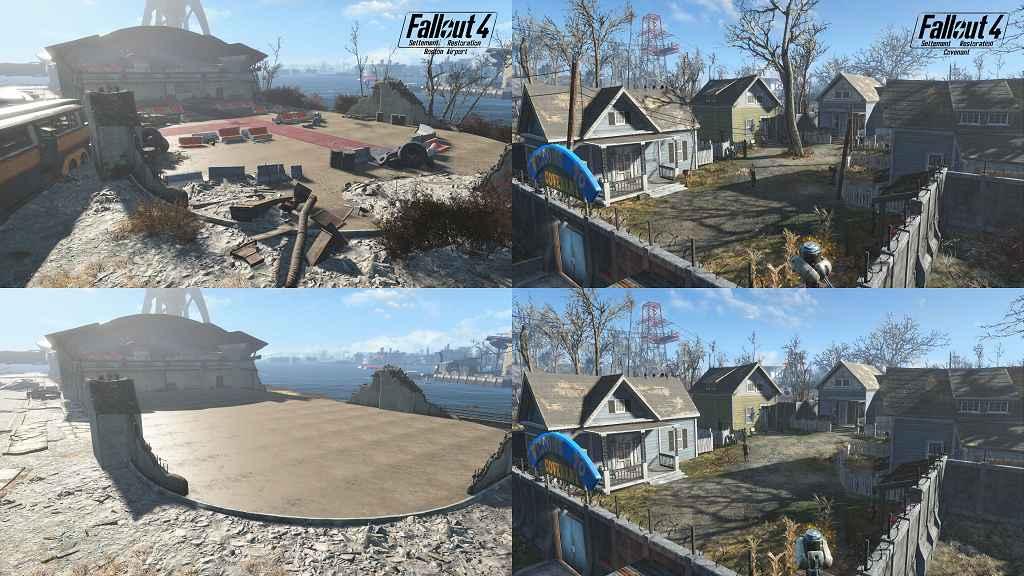 Мод Fallout 4 — Очистка поселений