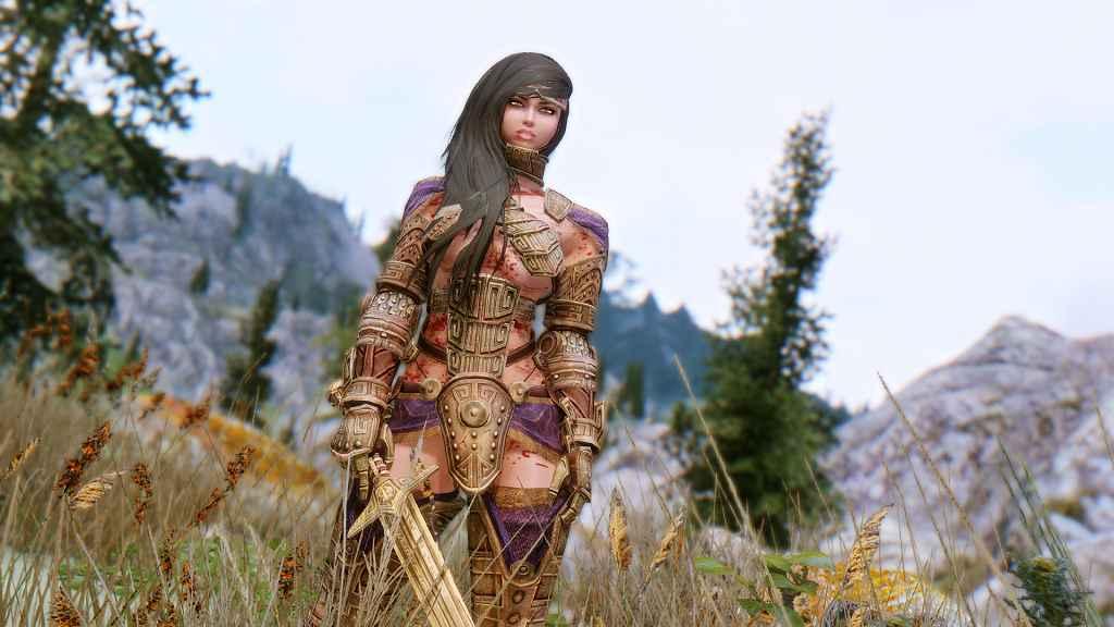 Мод Skyrim — Двемерская броня бикини