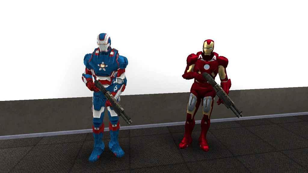 Мод Garrys Mod 13 — Модель Железного Человека