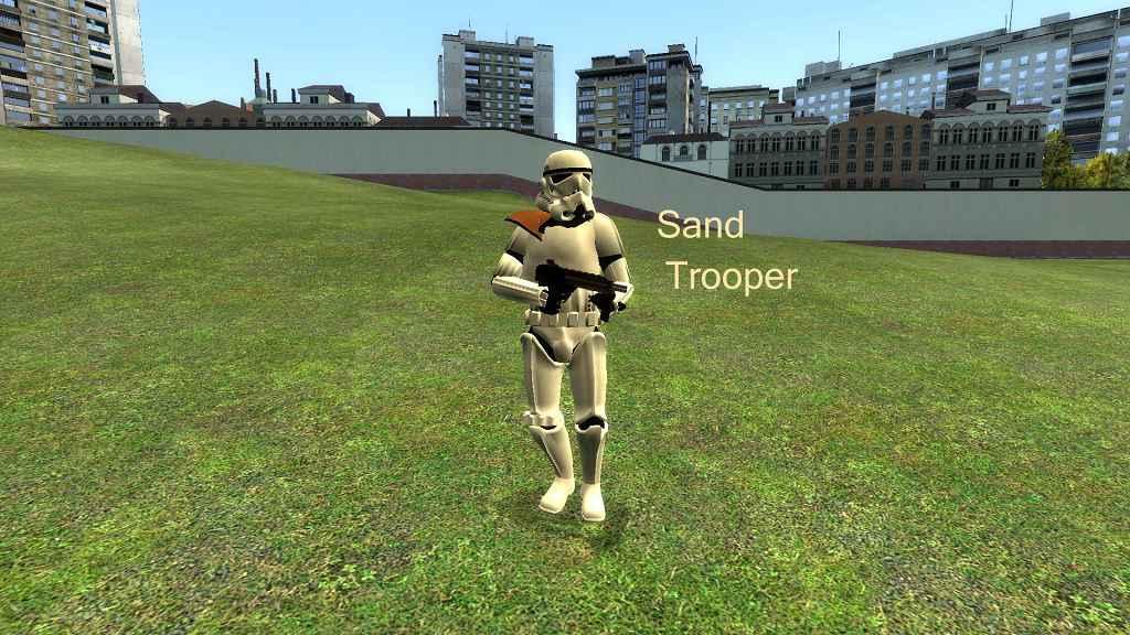 Мод Garrys Mod 13 — Модели персонажей из Star Wars