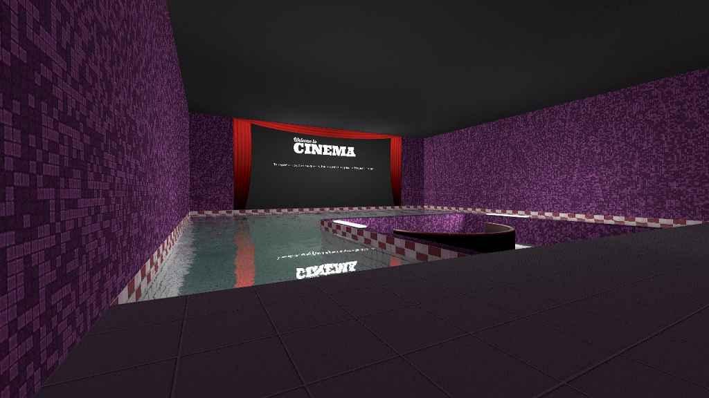 Мод Garrys Mod 13 — Карта кинотеатра