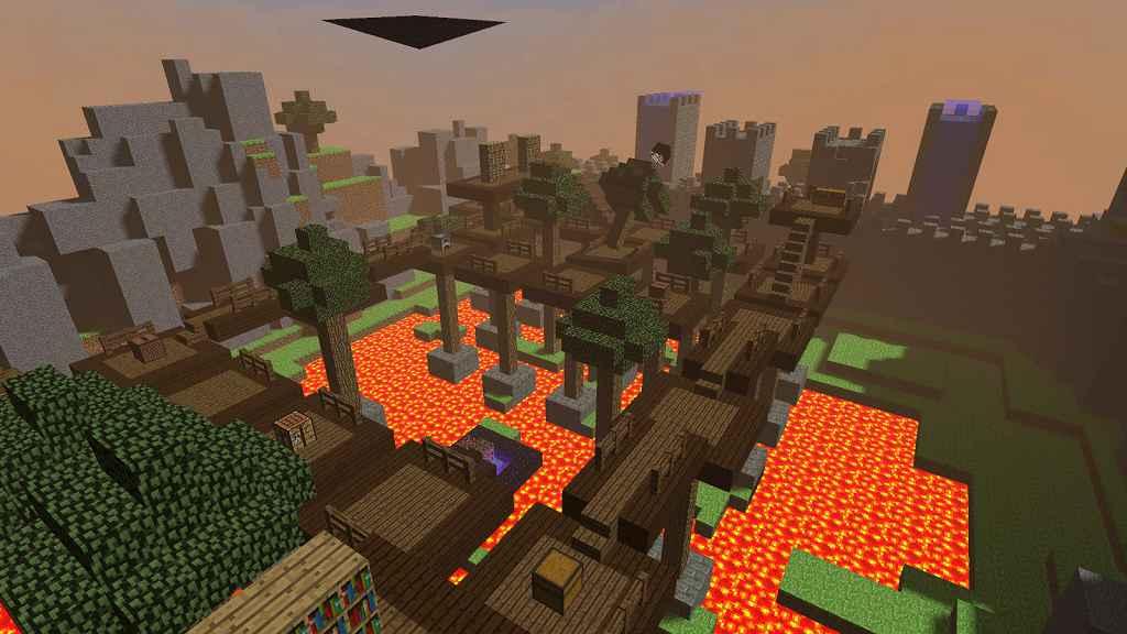 Мод Garrys Mod 13 — Карта smash_minecraft
