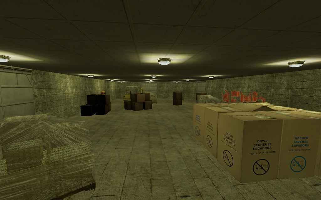 Мод Garrys Mod 13 — Карта подземных тоннелей
