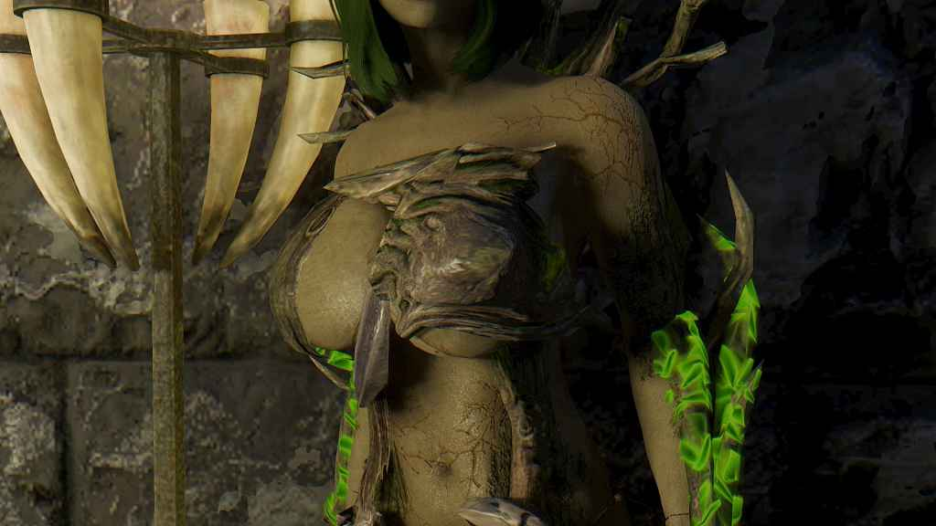 Skyrim — Спутница Эурека / Eureka -Spriggan Dryad Follower