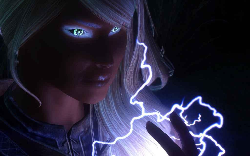 Skyrim — Рунические глаза