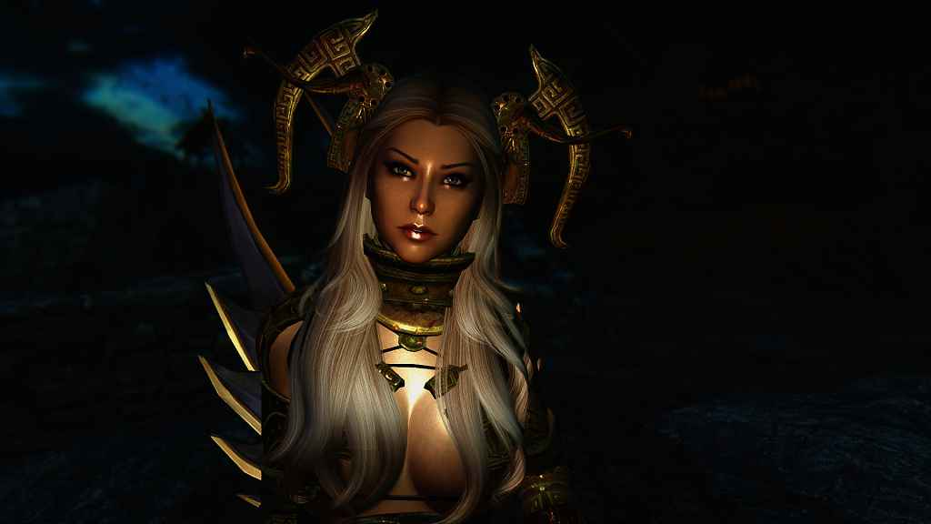 Мод Skyrim — Спутница Скайла