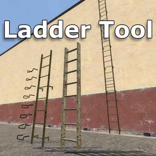 Мод Garrys Mod 13 — Инструмент для лестниц