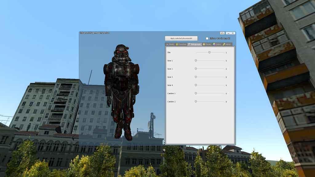 Мод Garrys Mod 13 — Модель игрока из Fallout NV