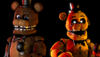sabs-withered-golden-freddy-microphone-also-included