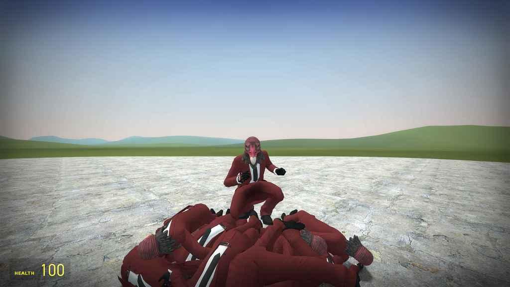 Мод Garrys Mod 13 — Модель игрока из GTA Online