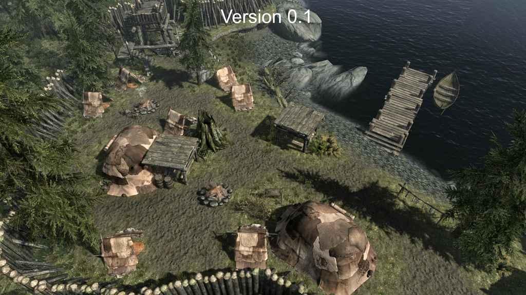Мод Skyrim — Лагерь спутников