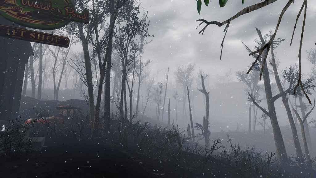 Мод Fallout 4 — Глобальное изменение погоды