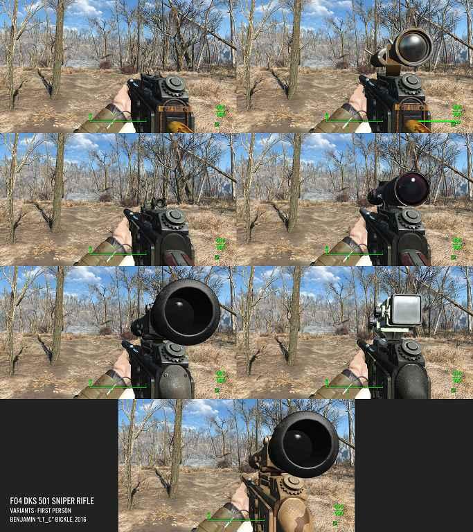 Fallout 4 — Снайперская винтовка DKS-501