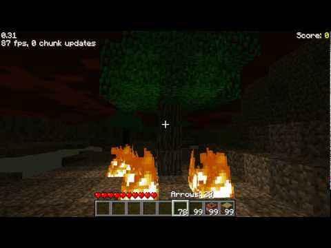 Мод Minecraft — Dynamic Lights / Динамическое освещение для 1.10/1.7.10