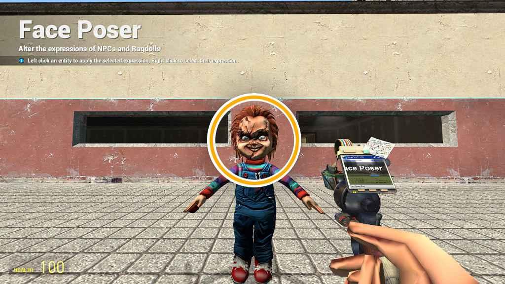 Мод Garrys Mod — Игровая модель «Кукла Чаки»