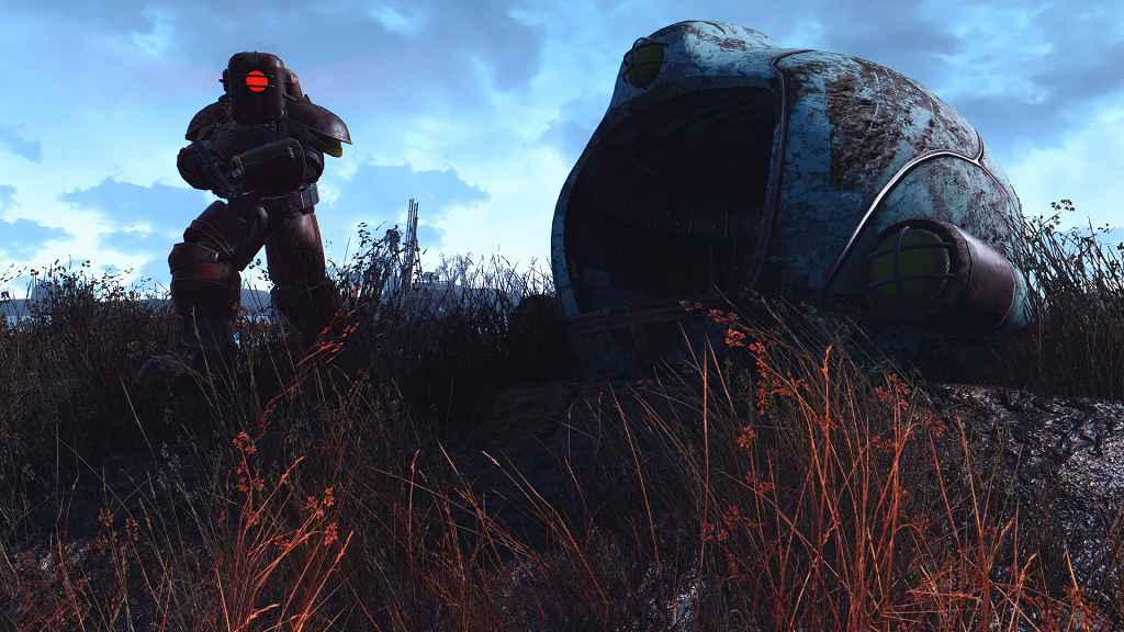 Мод Fallout 4 — Силовая броня Большого Папочки