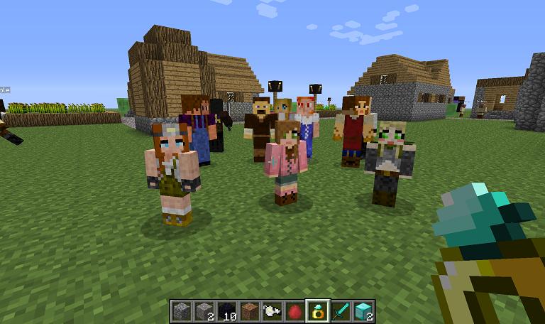 Мод Minecraft — MCA 5.2.0 / Жена, дети и т.п.