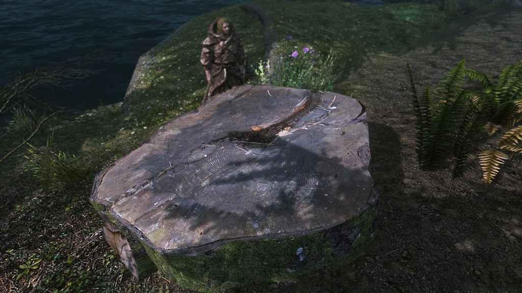 Мод Skyrim — Реалистичные срубы на пнях