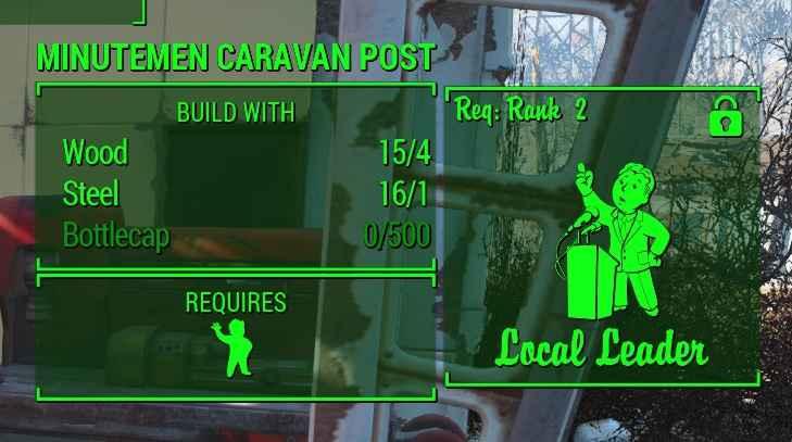 Мод Fallout 4 — Путешествие на караванах